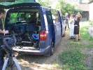 Na planie filmu TVN Discovery Historia 2008